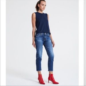 ADRIANO GOLDSCHMIED tomboy Crop Jeans.